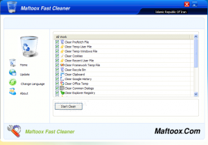 Maftoox Fast Cleaner 1.0.0.1 - náhled