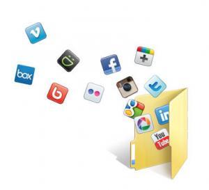 SocialFolders 2.2.0 - náhled