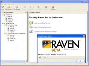 Zoundry Raven 1.0.375 - náhled