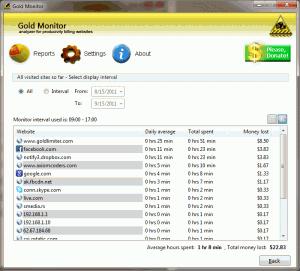 Gold Monitor 1.6.0 - náhled