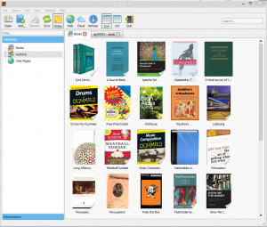 BookONO E-book Manager 0.2 Alpha - náhled