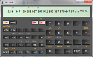 HiPER Calc 2.3 - náhled