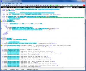 ProgramEdit 4.5.2 - náhled