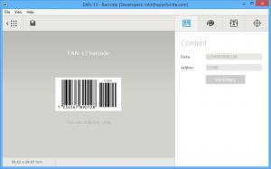 Barcode Generator For Designers 1.2 - náhled
