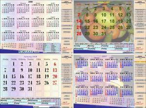 Asman Calendar Maker 1.8.4.5 - náhled