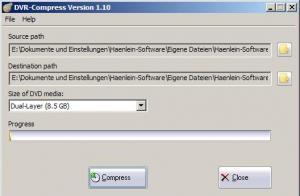 DVR-Compress 2.07 - náhled