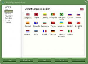Rapid Typing Tutor 5.1 - náhled