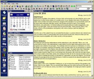 Debrief Portable 2.4 - náhled