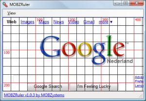 MOBZRuler 1.0.3 - náhled