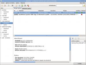 Datovka 4.8.1 - náhled