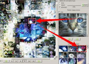 Artensoft Photo Mosaic Wizard 1.6 - náhled