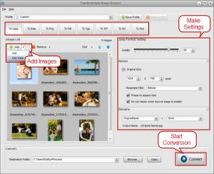 PearlMountain Image Resizer Free 1.1.4 - náhled