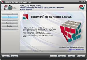 DBConvert for Access and MySQL 8.1.7 - náhled