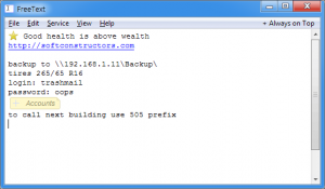 FreeText Portable 1.46