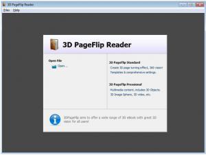 3D PageFlip Reader 2.6.8 - náhled