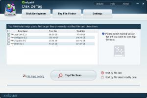 Amigabit Disk Defrag 1.0.2 - náhled