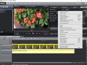 Magix Video Pro X6 - čeština - náhled