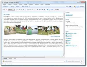 Windows Live Essentials 2011 - náhled