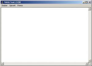 MAXA Text-2-EXE 3.2 - náhled