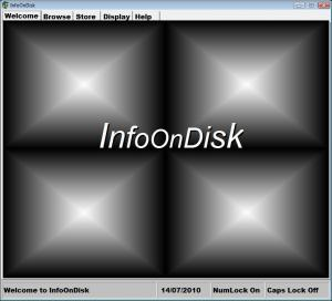 InfoOnDisk 1.5 - náhled