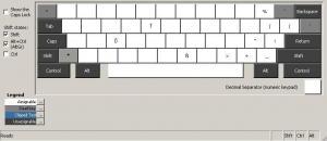 Czech Keyboard 1.5 - náhled
