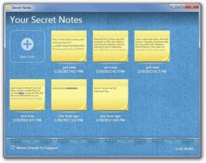 Secret Notes 1.0.1 - náhled