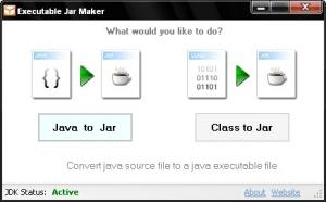 Executable Jar Maker 1.0 - náhled