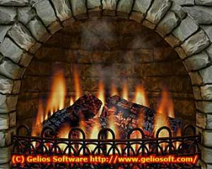 3D Realistic Fireplace  2.71 - náhled