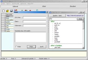 E-Slovníček 0.5.0 - náhled