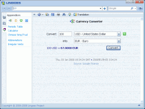 Lingoes Translator Portable 2.9.0 - náhled