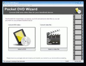 Pocket DVD Wizard 5.4.1 - náhled
