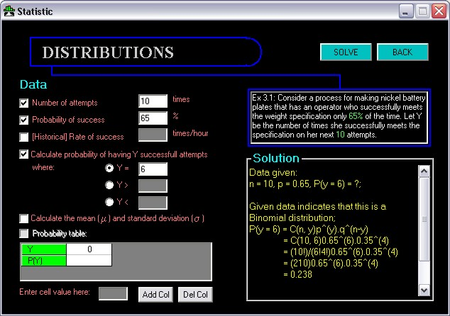 statistics problem solver Statistics problem solver software can solve statistical problems and generate step-by-step solution for it this statistics tutorial software is as easy to use.