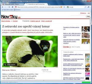 My Internet Browser 6.0.1 - náhled