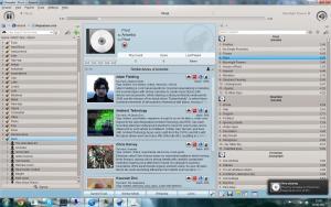 Amarok 2.8.0 - náhled