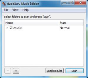 dupeGuru Music Edition 6.2.1 - náhled