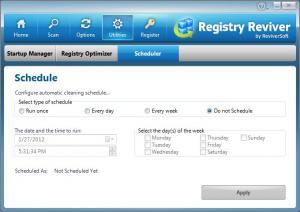 Registry Reviver 3.0.1.162 - náhled
