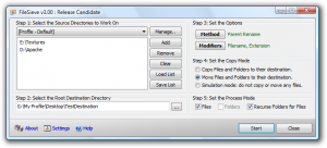 FileSieve 3.00 - náhled