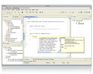 Zend Studio 13.6.1 - náhled