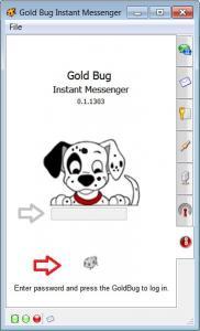 GoldBug - Secure Instant Messenger 0.2 - náhled