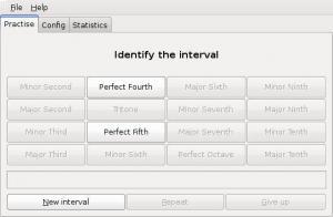 GNU Solfege 3.22.2 - náhled