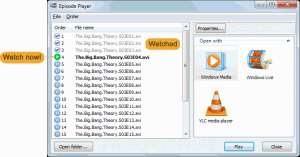 Episode Player 1.0.0.0 - náhled
