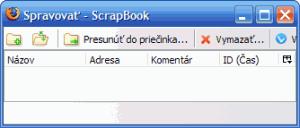 ScrapBook - náhled