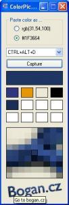 ColorPicker - náhled