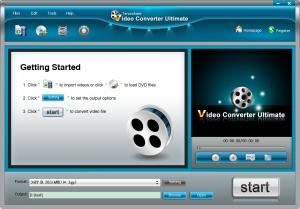 Tenorshare Free Video Converter 3.1 - náhled