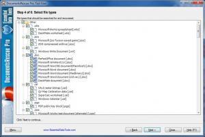 DocumentsRescue Pro 6.10 - náhled