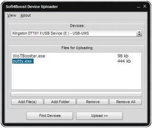 Soft4Boost Device Uploader 5.9.5.965 - náhled