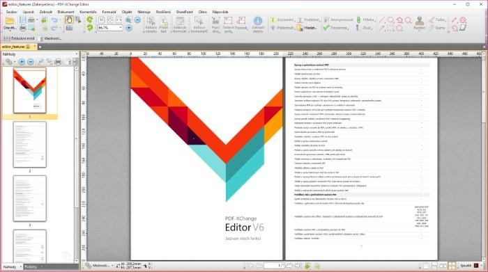 PDF-XChange Editor V6 6.0.322.7 - Plná licence - 1 licence