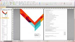 PDF-XChange Editor Pro - náhled