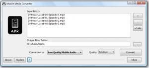 Mobile Media Converter 1.7.5 - náhled