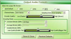 iPod Audio Converter 1.0.0.0 - náhled